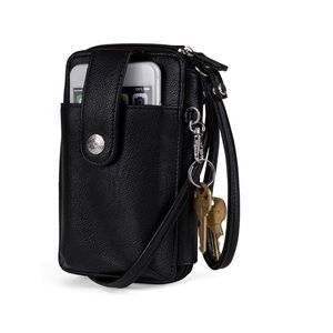 NWT MUNDI  Vegan Leather crossbody purse